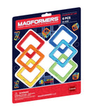 magformers - basic squares 6 pc