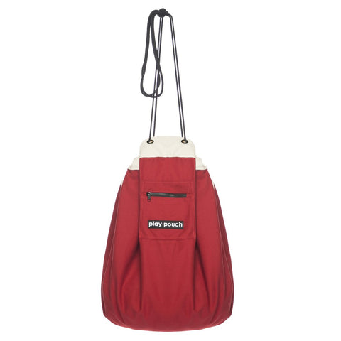 play pouch - rocket red