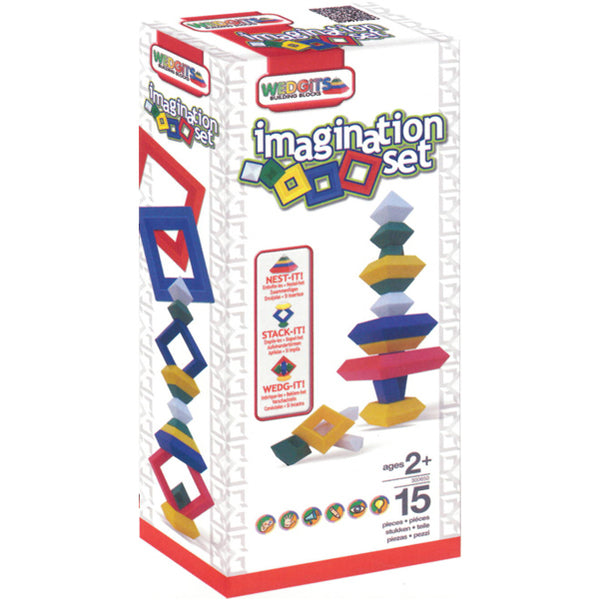 Wedgits imagination set 15 pc