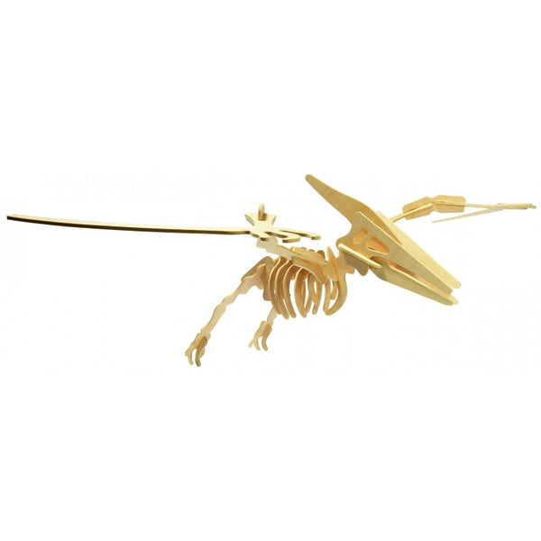 Small pteranodon wooden model kit