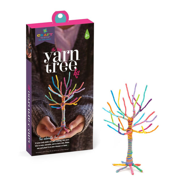 the tiny yarn tree