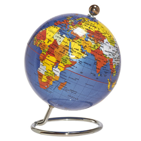 desktop globe small - blue