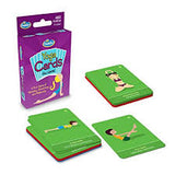 yoga card game