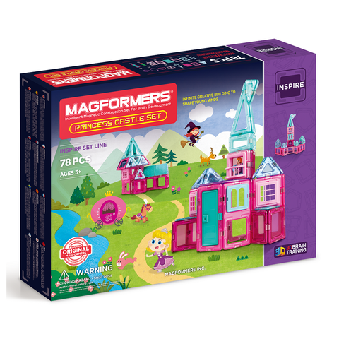 Magformers princess castle - 78pcs