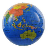 inflatable world globe - 30cm