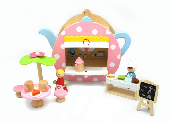 Portable teapot play set