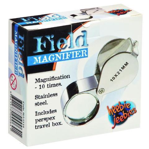 field magnifier - 10 x magnification