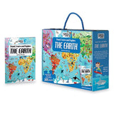travel, learn & explore - the earth puzzle