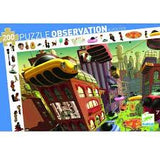 observation puzzle - city of the future 200pcs
