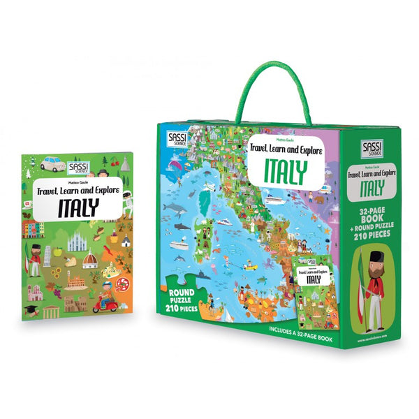 travel, learn & explore - Italy puzzle