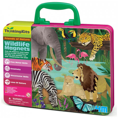 thinking kits - wild life magnets