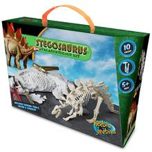 stegosaurus palaeontology kit