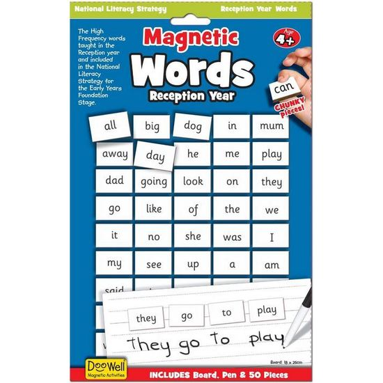 magnetic words - reception