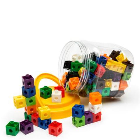 linking cubes - 2cm
