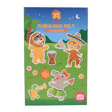 fabulous felt - jungle party