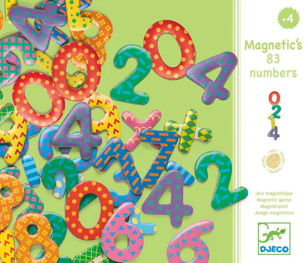 djeco - magnetic numbers