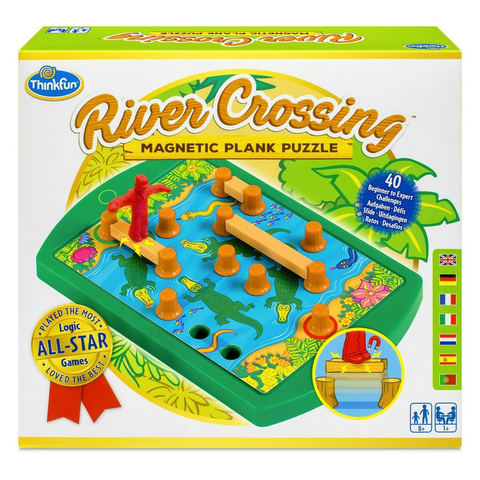 river crossing magnetic plank puzzle
