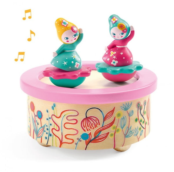 magnetic music box- flower melody