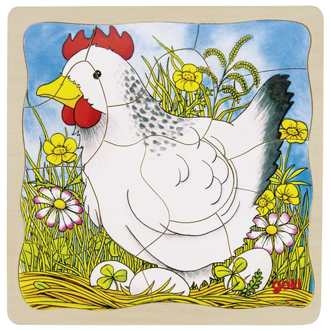 Chicken layer puzzle