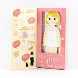 wooden magnetic dress up