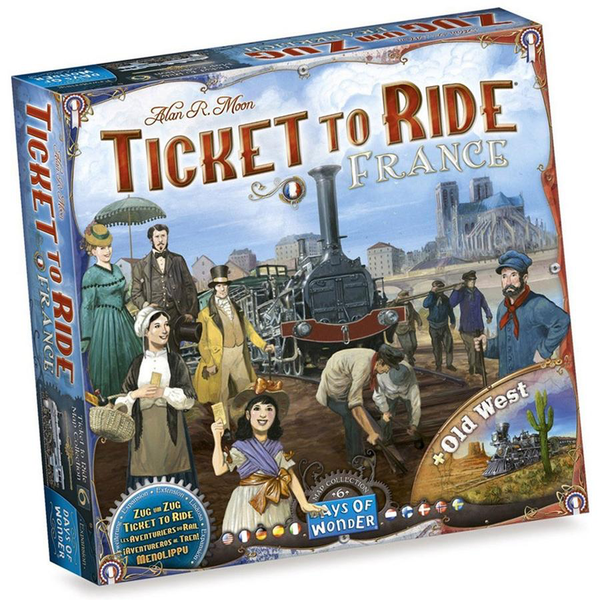 ticket to ride- France