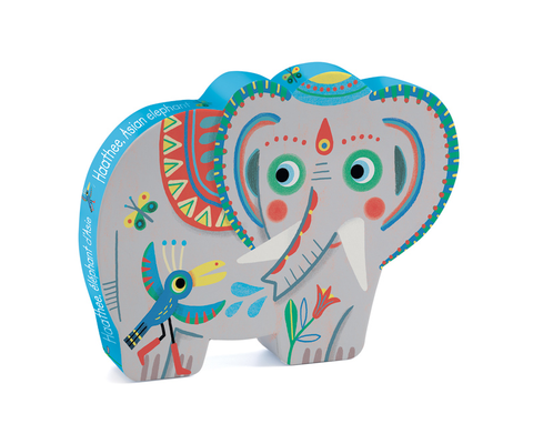 Asian elephant 24pc puzzle