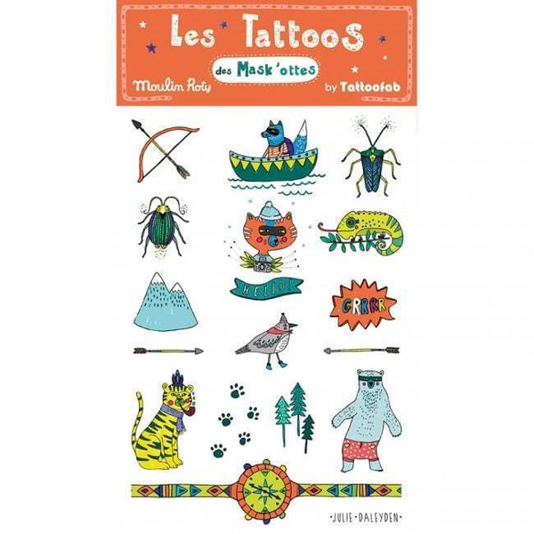 moulin roty - tattoos assorted