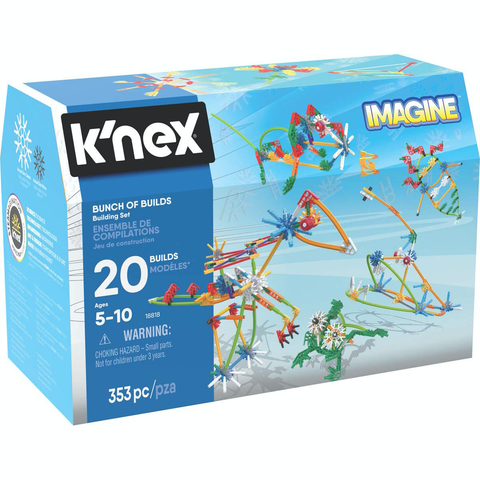 k'nex bunch of builds