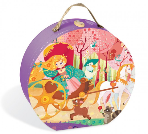 princess and coach suitcase puzzle