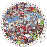 Janos - firefighter observation puzzle