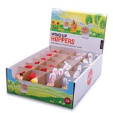 Wind up hoppers