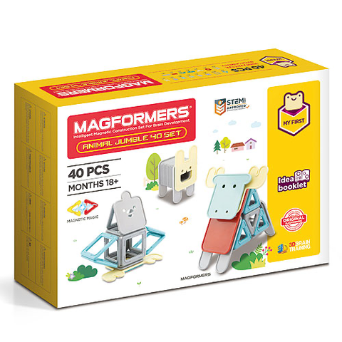 magformers - animal jumble set