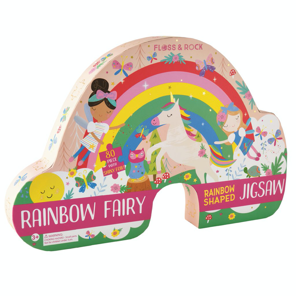 Rainbow fairy jigsaw