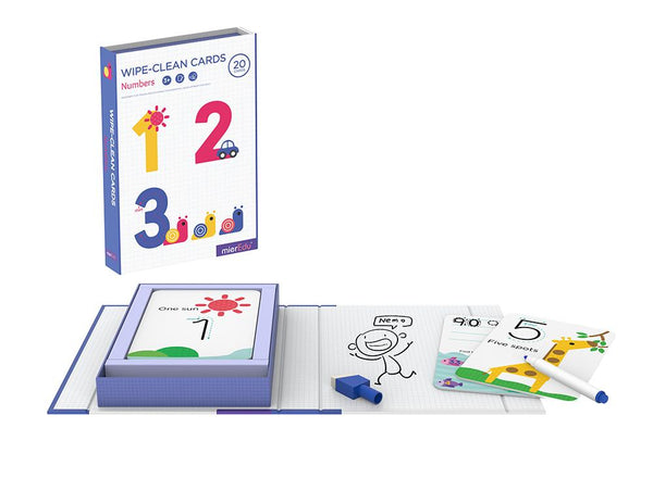 Wipe clean activity set- numbers