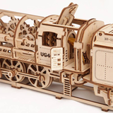 ugears - locomotive with tender