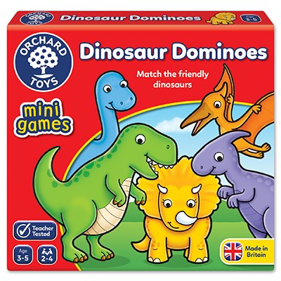 dinosaur dominoes - mini games