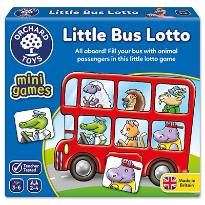 Mini Games - Little Bus Lotto