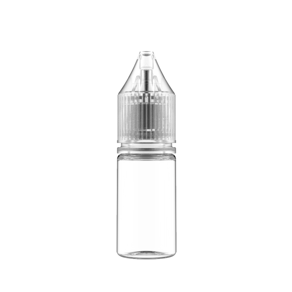 Chubby Gorilla Clear Transparent Bottle With Clear Cap - 10ml