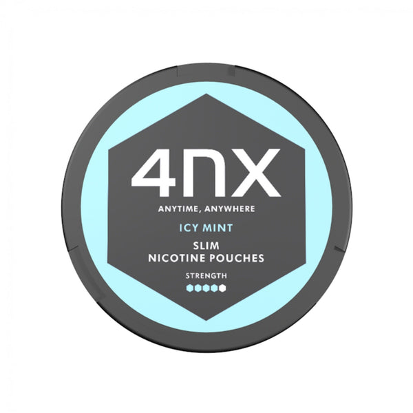 4NX Slim Nicotine Pouches Icy Mint