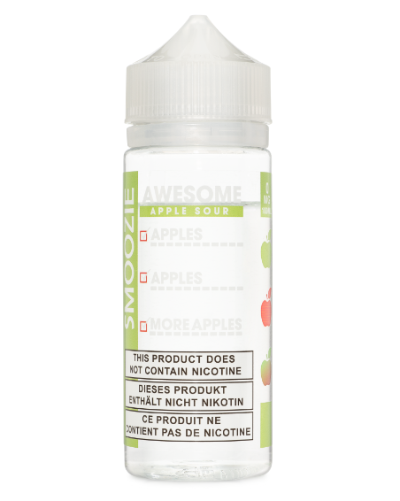 Awesome Apple Sour by Smoozie E-liquid 100ml Short Fill
