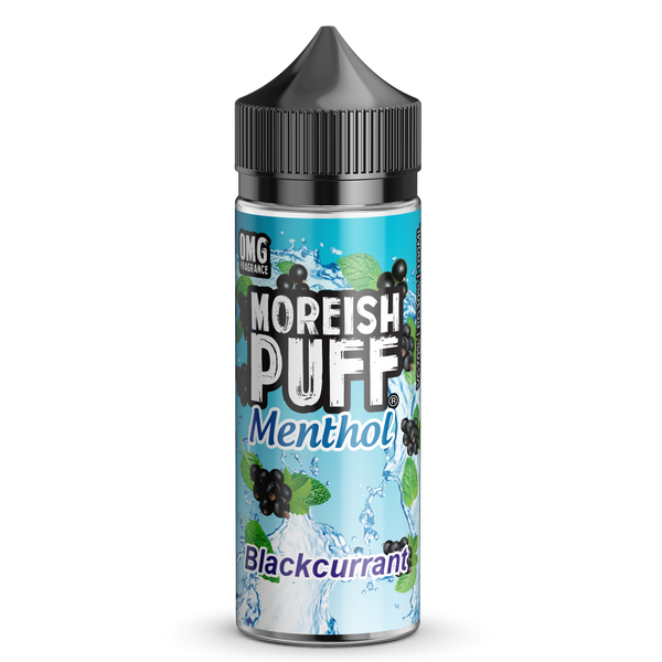 Moreish Puff Blackcurrant Menthol 100ml Short Fill