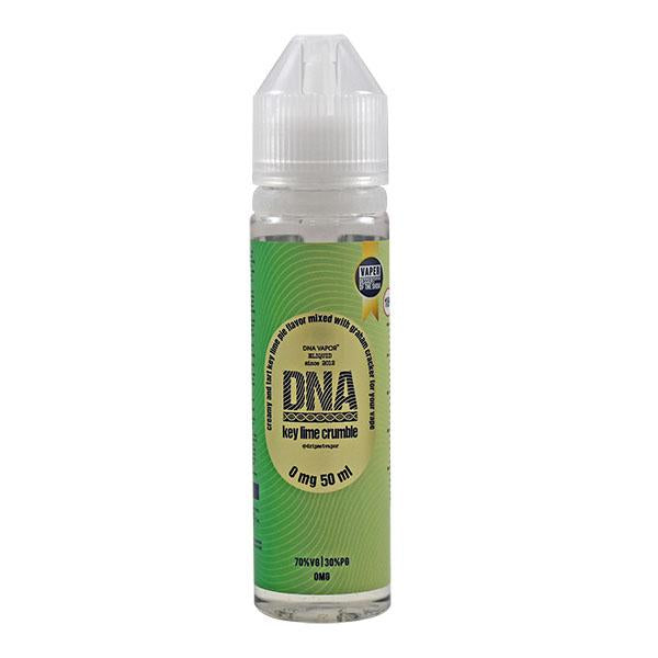 DNA BY DADDY'S VAPOR - KEY LIME CRUMBLE 0MG 50ML SHORTFILL E-LIQUID