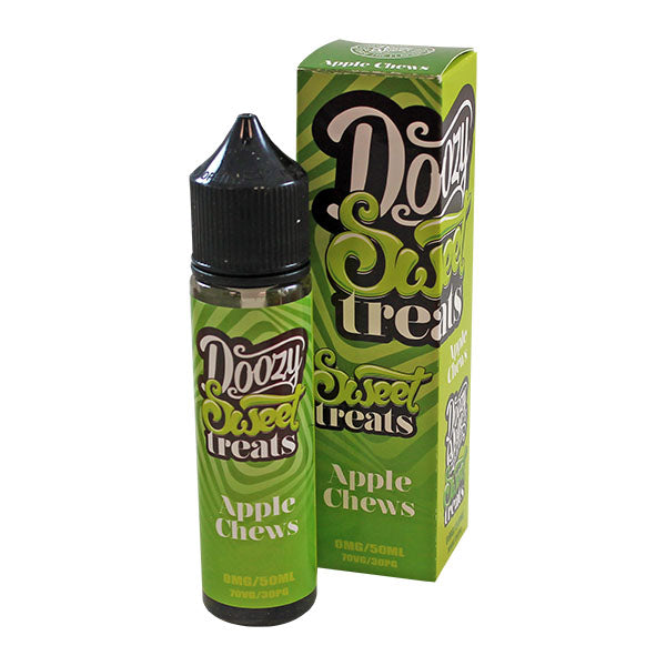 Doozy Vape Sweet Treats: Apple Chews 0mg 50ml Short Fill E-Liquid
