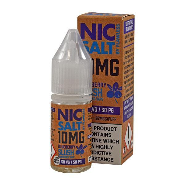 Flawless Blueberry Slush 10mg 10ml Nic Salt E-Liquid