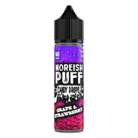 Grape & Strawberry Candy Drops By Moreish Puff 0mg Shortfill - 50ml - Polish Label