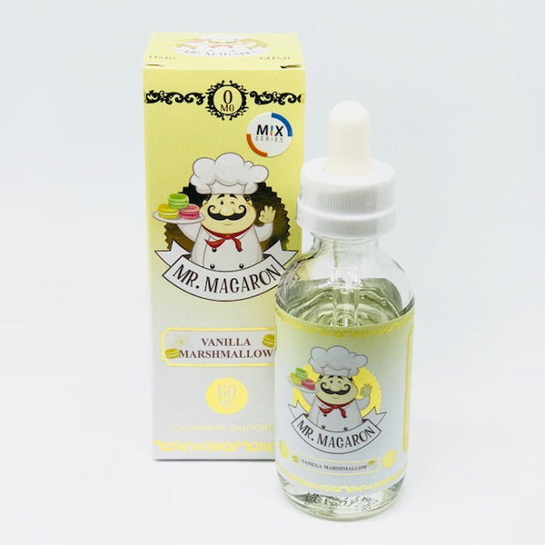 Vanilla Marshmallow By Mr. Macaron Mix Series  0mg Shortfill - 50ml