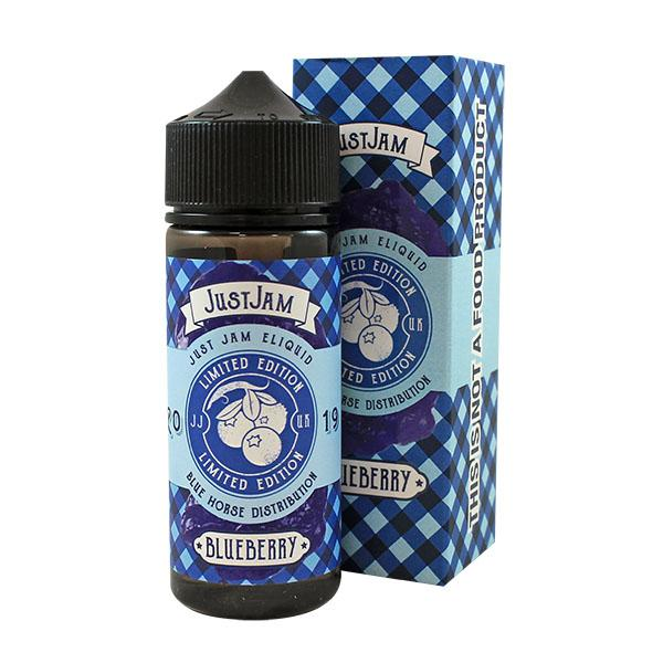 Just Jam Blueberry E-Liquid 100ml Short Fill (Limited Edition)