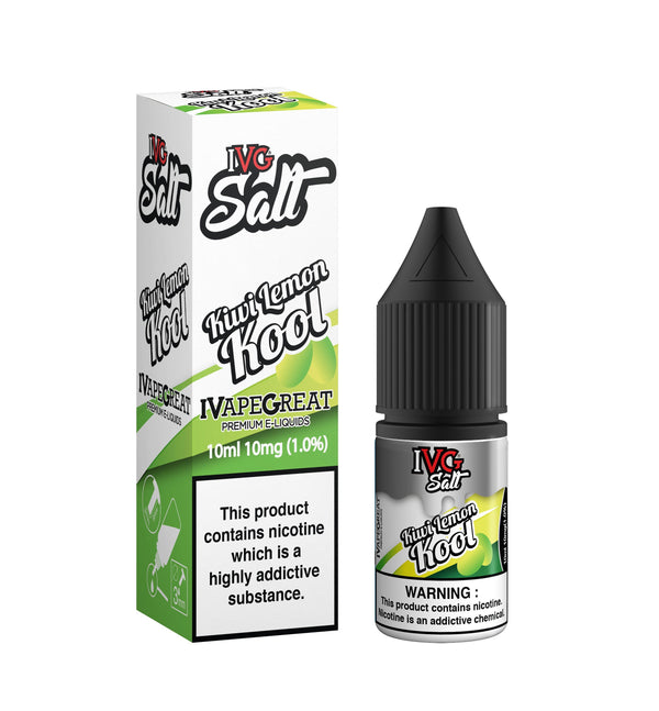 Kiwi Lemon Kool E-liquid by I VG Salt 10ml TPD Compliant