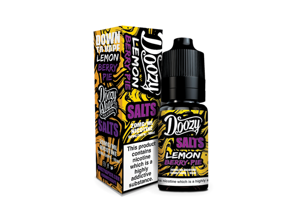 Doozy Vape 50/50: Lemon Berry Pie 10ml Nic Salt E-Liquid