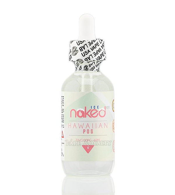 Naked Ice Hawaiin Pog 0mg 50ml Shortfill E-liquid